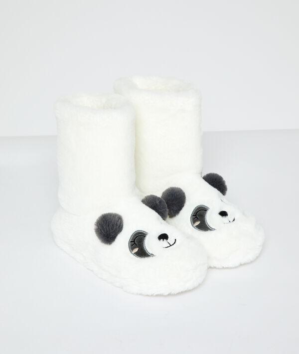 Zapatillas tipo botines panda;${refinementColor}