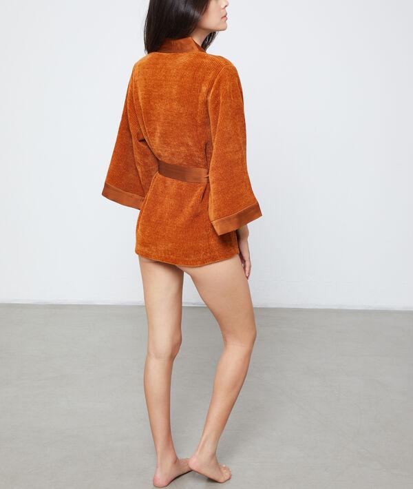 Kimono tejido esponjoso