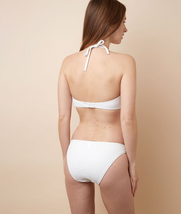 Sujetador bikini triángulo, copas extraíbles;${refinementColor}
