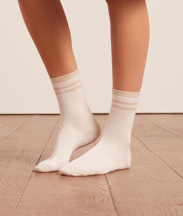 Lote de 2 pares de calcetines cortos;${refinementColor}