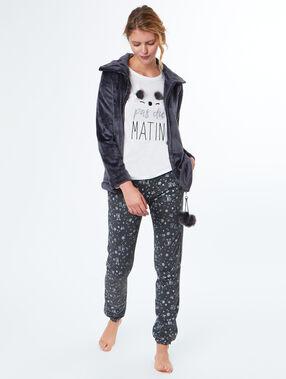 Pijama 3 piezas koala c.gris.
