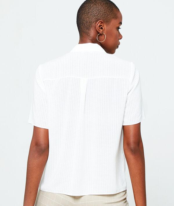 Camisa efecto texturizado