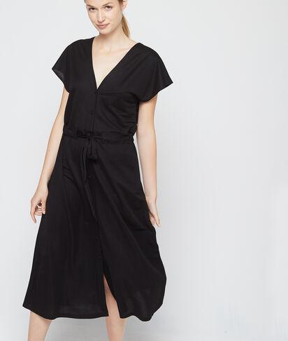 Vestido largo espalda escotada
