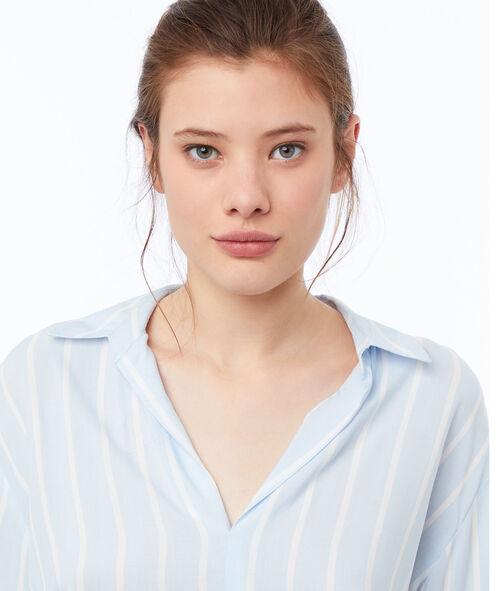 Blusa estampado de rayas