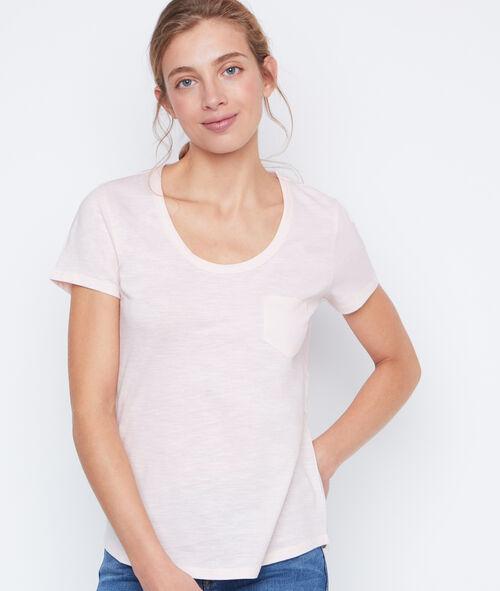 Camiseta escote redondo algodón