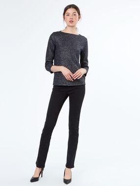 Pantalon en coton noir.