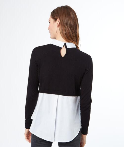 Jersey con camisa 2 en 1