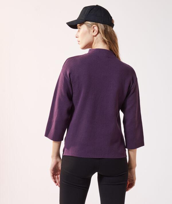 Jersey ancho de cuello alto