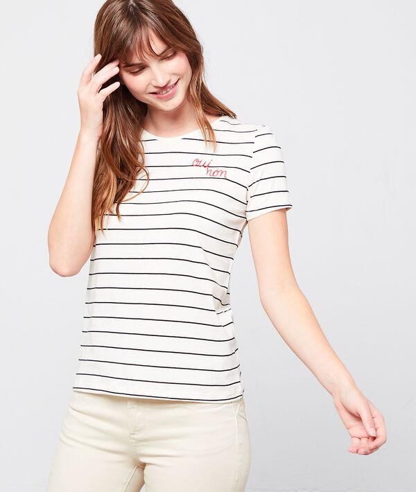 Camiseta marinera 'Oui-non'