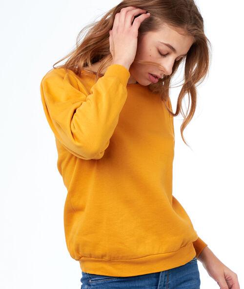 Sudadera cuello redondo