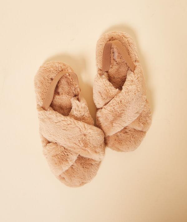 Zapatillas peludas