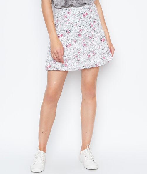 Falda holgada estampado floral