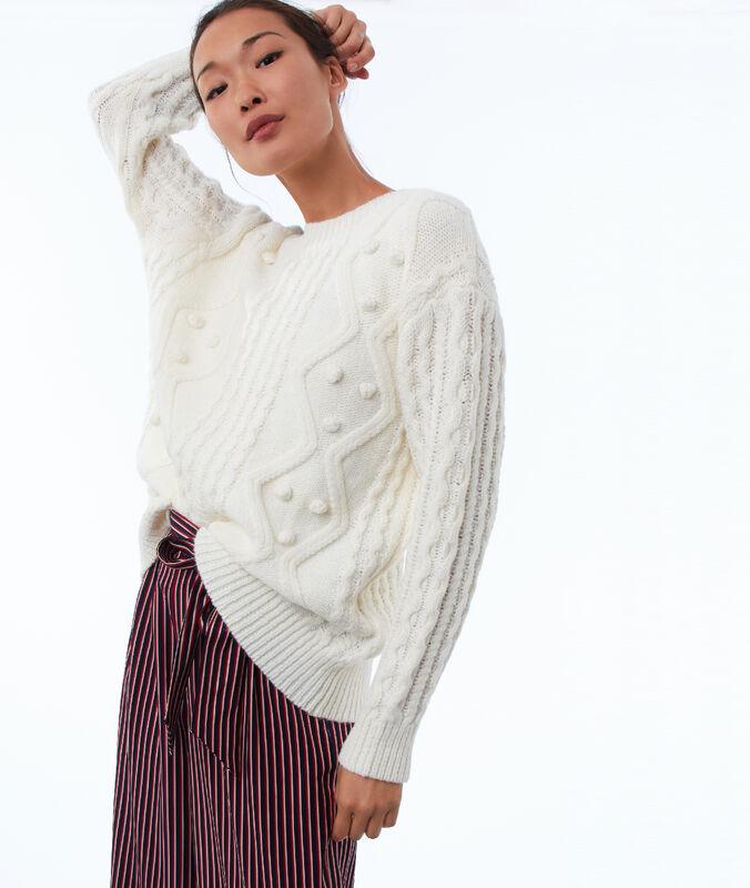 Jersey de punto tricotado crudo.