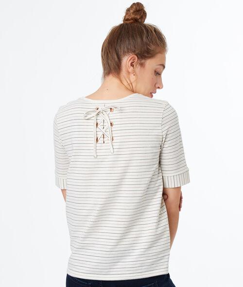 T-shirt à rayures