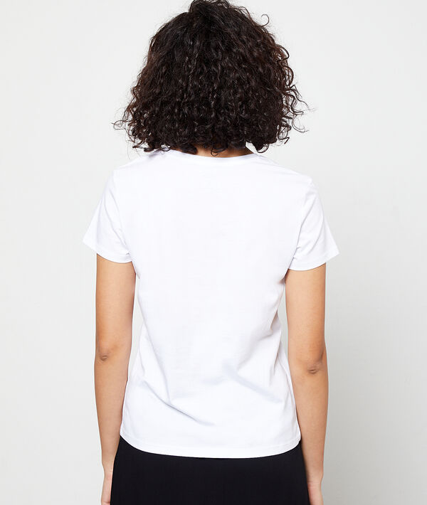 Camiseta 'Feel free' de algodón orgánico