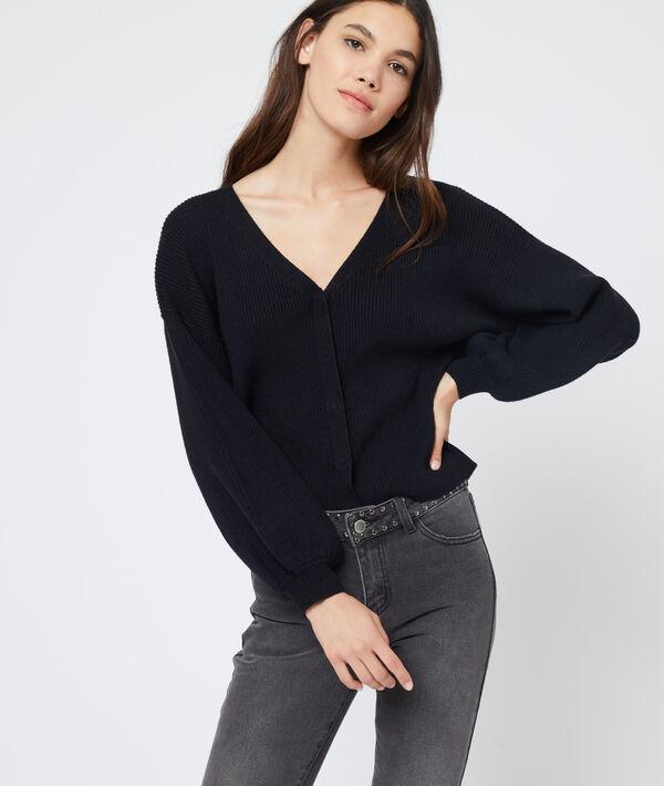 Suéter de mangas anchas