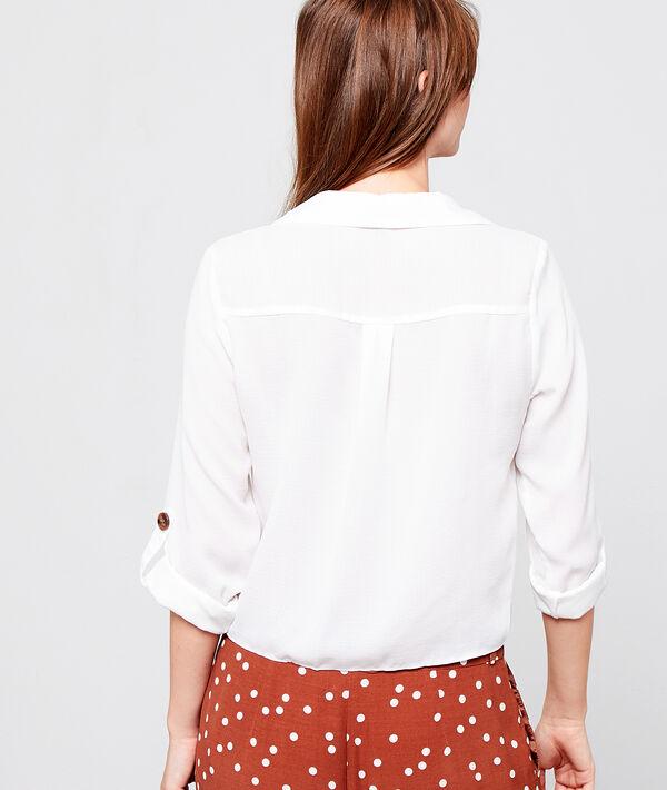 Blusa de botones tipo ámbar