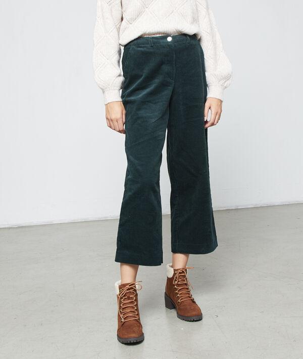 Pantalón ancho de pana