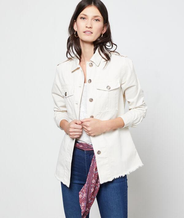 Chaqueta de algodón