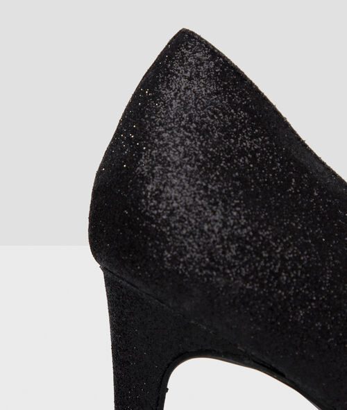 Zapatos de tacón piel brillante