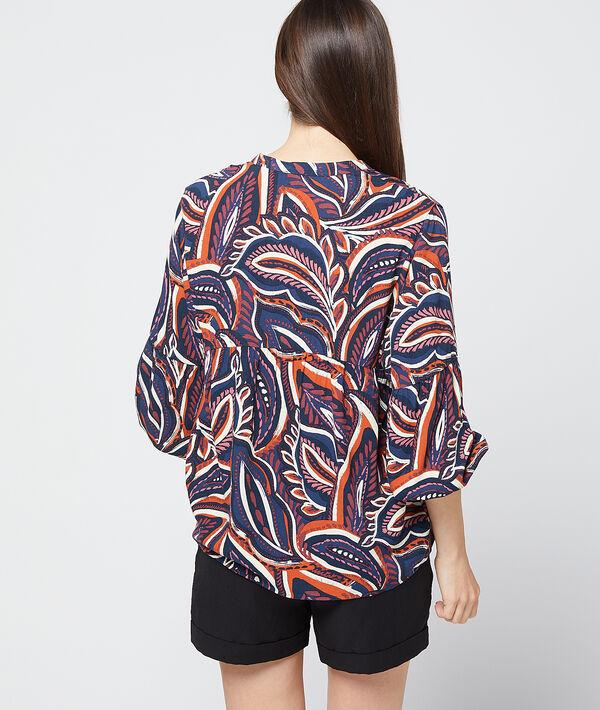 Blusa estampado floral