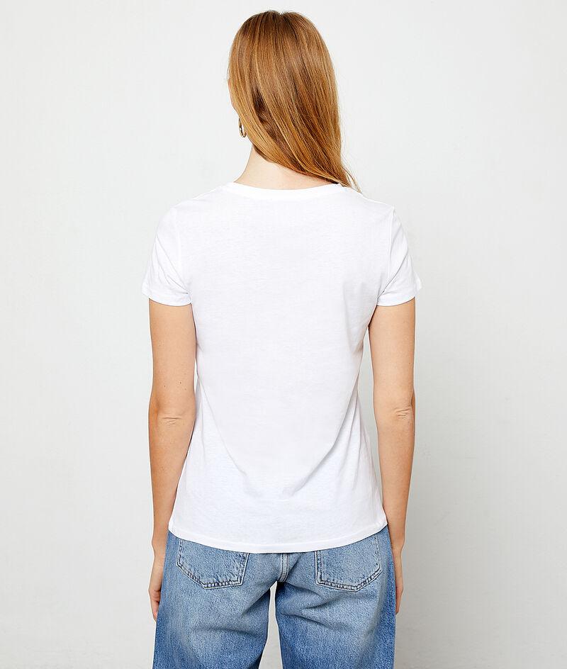 Camiseta 'Chérie' de algodón orgánico