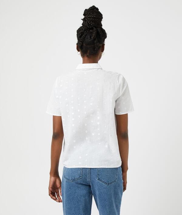 Camisa estampado de lunares