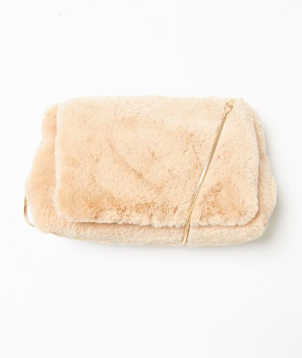 Bolso bandolera de piel sintética