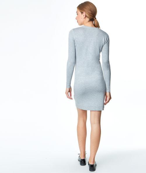 Robe pull col V