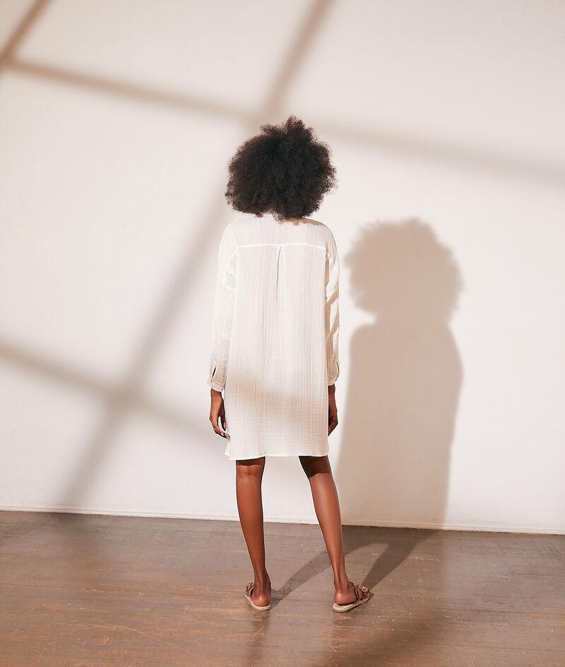 Vestido holgado de algodón