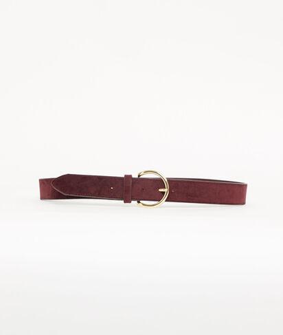 Cinturón de hebilla grande