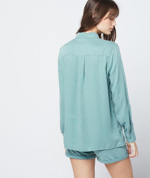 Camisa entallada de Tencel