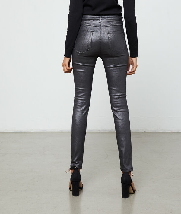 Pantalón ajustado forrado