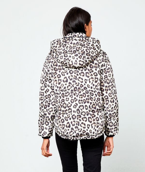 Chaqueta estampado leopardo