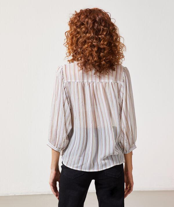 Blusa estampado rayas