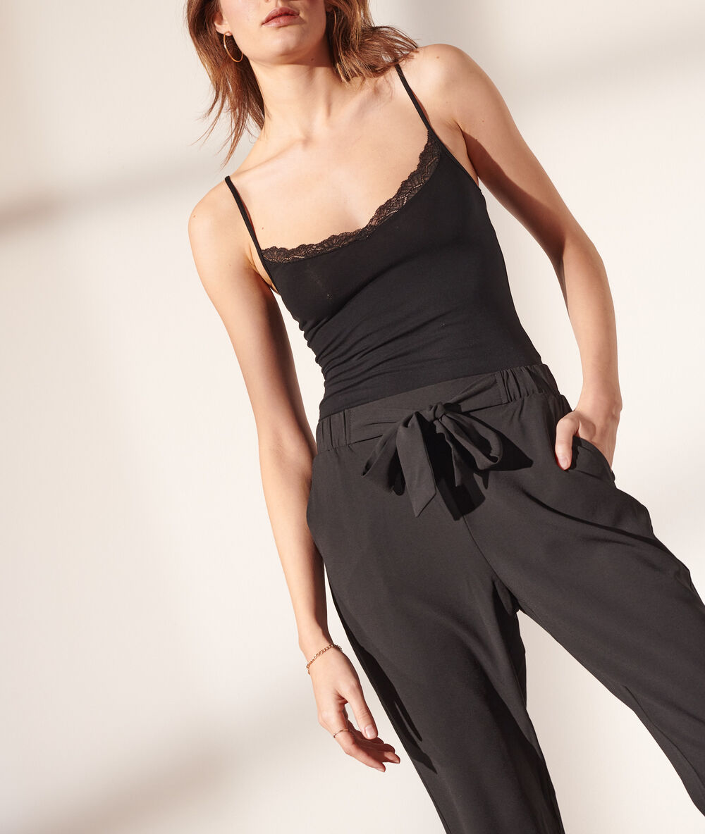 Pantalones Largos De Mujer Etam