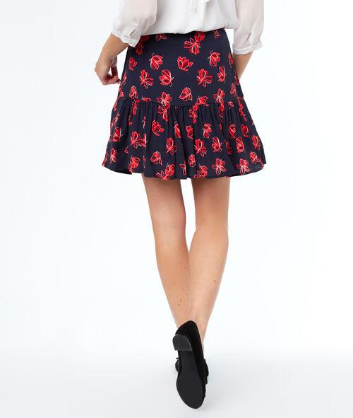 Falda estampado floral