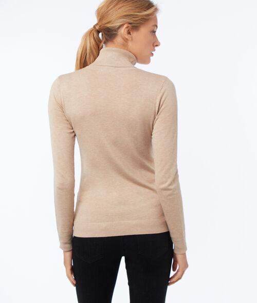 Jersey liso cuello alto