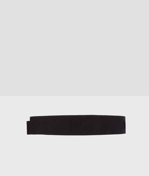 Cinturón de piel para anudar