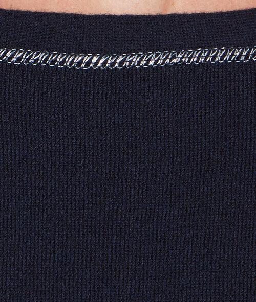 Jersey cuello redondo
