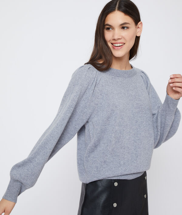 Suéter manga larga de cachemira