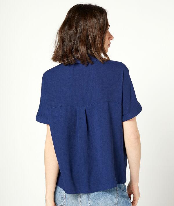 Camisa manga corta lisa