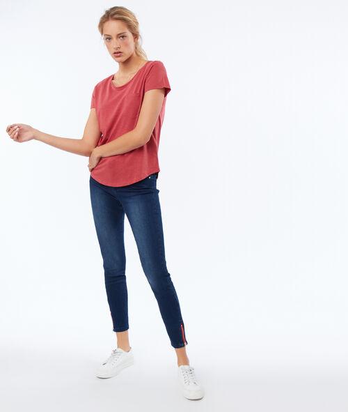 Camiseta cuello redondo algodón