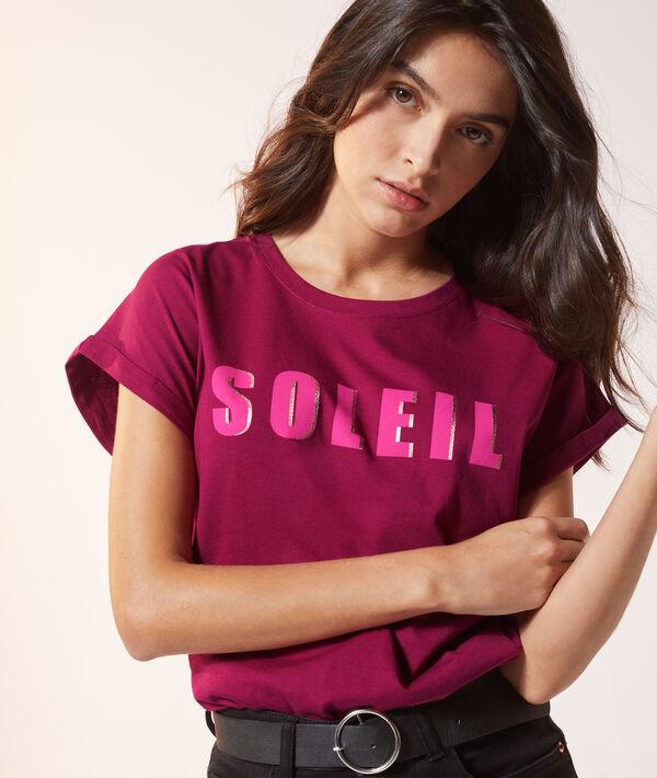 Camiseta 'Soleil'