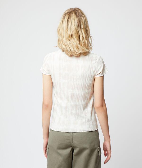 Camiseta tejido canalé