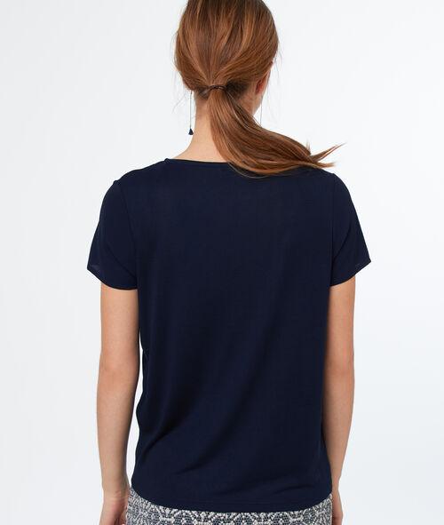 Camiseta manga corta cuello redondo