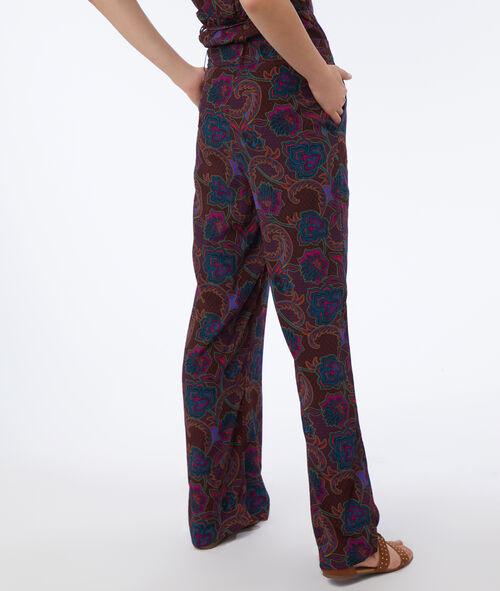 Pantalón largo estampado