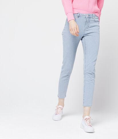Pantalón ajustado a rayas