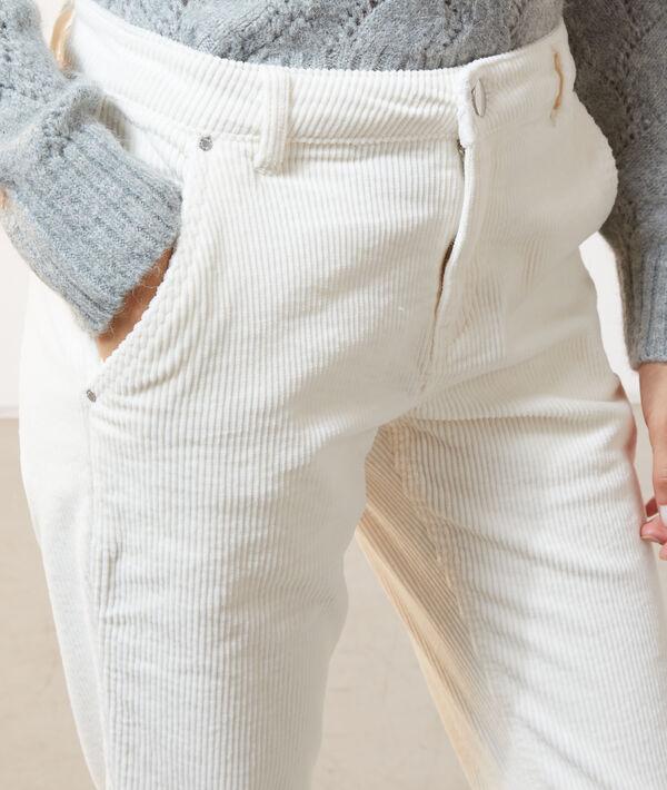 Pantalones de pana aterciopelados