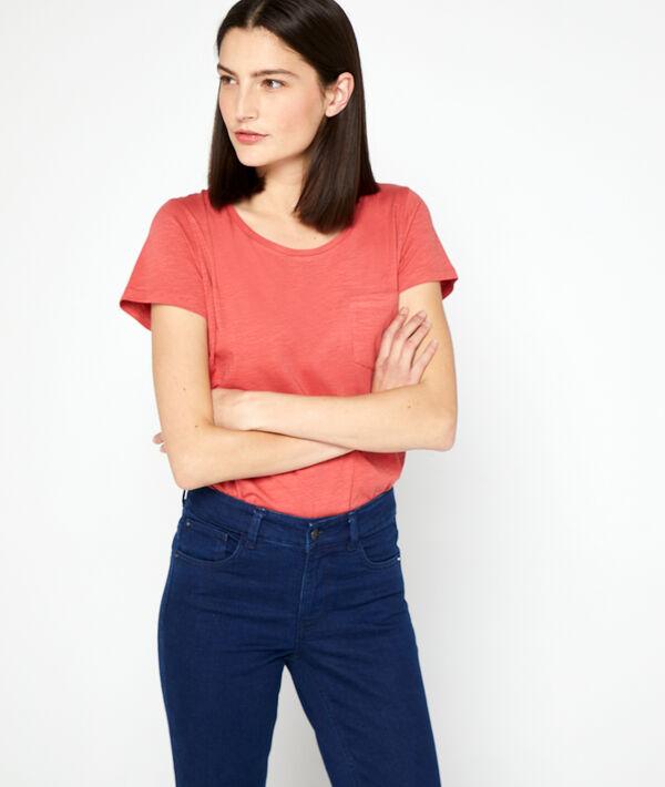 Camiseta de algodón orgánico